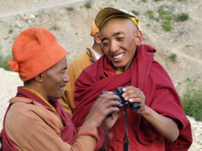 Ladakh 2008 - Grant Tomlinson and Jan Rooks