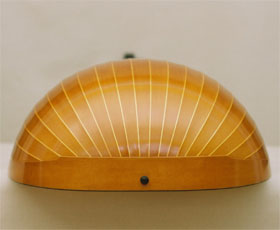 End View of Bass Lute  - Grant Tomlinson Lutemaker